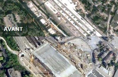 Nouvelles photos de Belgique sur Google Earth