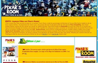 Decouverte pixar room