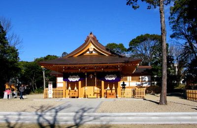 Le sanctuaire de Shibukawa