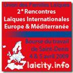 2e Rencontres Laïques Internationales à la Bourse du travail de Saint-Denis