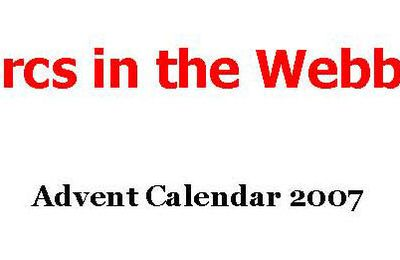 Orcs In The Webbe : Calendrier de l'Avent/Advent Calendar
