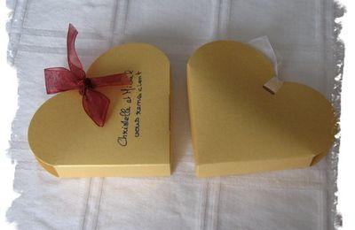 Boîte à dragées de mon mariage