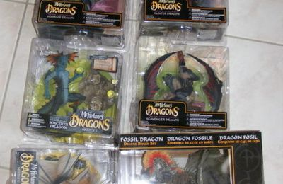 McFarlane Dragons series 5 & 6 haul !