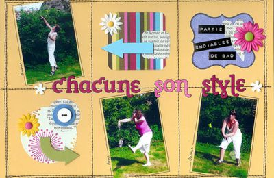 Chacune son style...