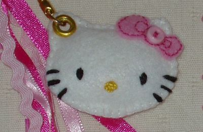 FICHE TECHNIQUE N° 11: LE PORTE-CLES HELLO KITTY