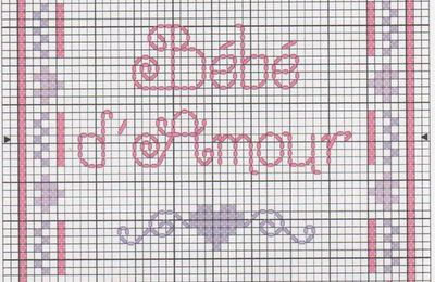GRILLE N°4: BEBE D'AMOUR