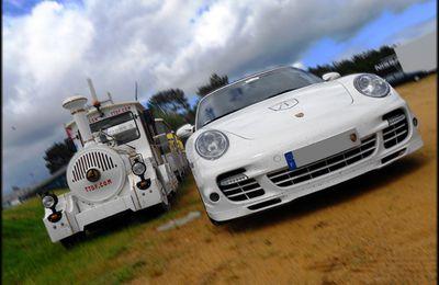 Supercars vs Train
