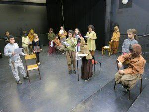Atelier théâtre du collège