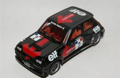 Renault 5 TURBO coupe d'Europe 82