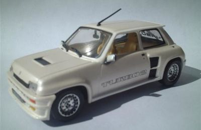 Renault 5 TURBO 2 blanche