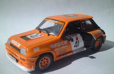 Renault 5 TURBO coupe d'Europe GOUHIER