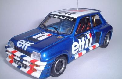 Renault 5 TURBO coupe d'Europe RAGNOTTI