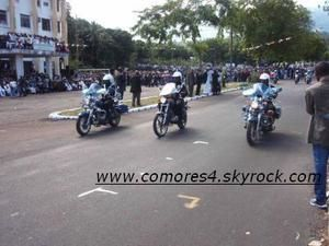 PHOTOS / 06 JUILLET 2008 : 33 ANS D'INDEPENDANCE DES COMORES EN IMAGES