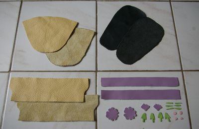 Tutoriel pour faire des chaussons en cuir pour bébé