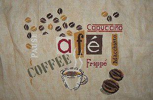 Brodez les cerises de café mesdames