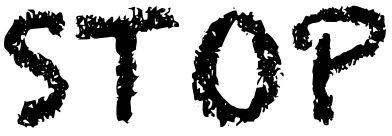 pour la Syrie : STOP !