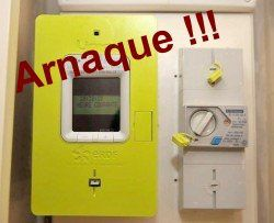 Compteurs EDF, attention arnaque !