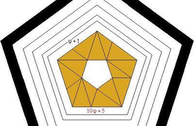 Pentagonoj kun pentagona truo