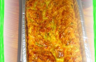 Cake courgettes-carottes