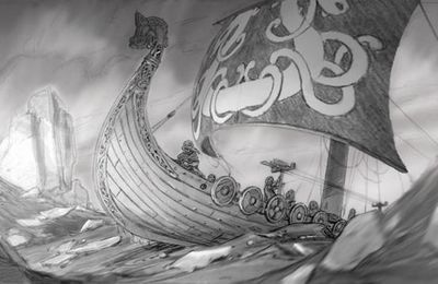 personal art works- viking's story