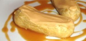 Eclairs au caramel au beurre salé pour le Kiki #27