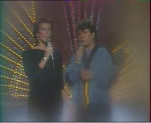 1983 : Frida & Daniel Balavoine : Belle dans Champs Elysée (Antenne2) (+video)