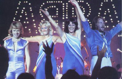 1979 : ABBA en concert à Paris en France et à Bruxelle en Belgique (+video)