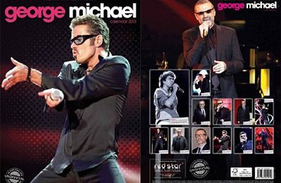 Calendrier George Michael 2013 - Red Star