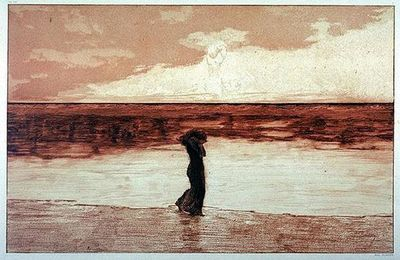 Max Klinger (1857-1920) : Verlassen