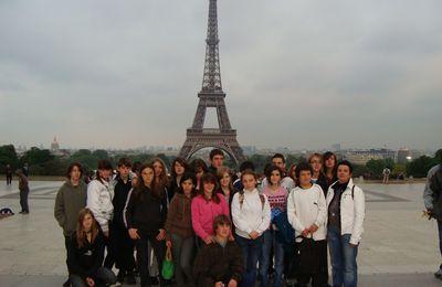 Les 4èmes du LARPS à Paris