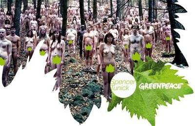 Greenpeace et Spencer Tunick
