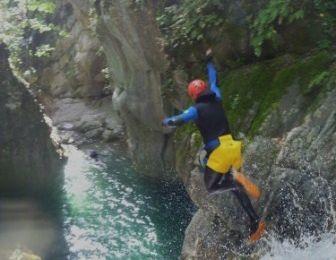 Le grand saut, j'adore...