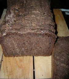 Pain Pumpernickel sans gluten