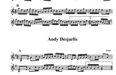 Montebello et Andy Desjarlis/2 reels in Am