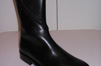 Boots et low boots zippées Kris Van Assche pour homme et Martin Margiela pour femme