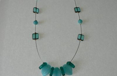collier turquoise !!