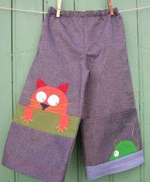 Pantalon chats et souris