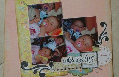 Page memories pour la DT de stamp and scrap