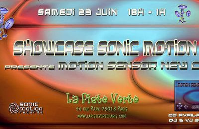Showcase Sonic Motion