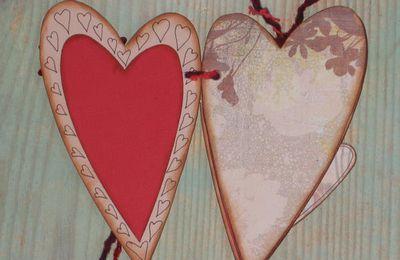 Mini-album Coeur pour Darina