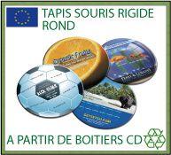 Tapis souris publicitaires de fabrication européenne - Collection