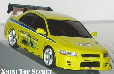 "Kyosho Mini-Z Lancer Evo Fast & Furious ""Autoscale Collection"""