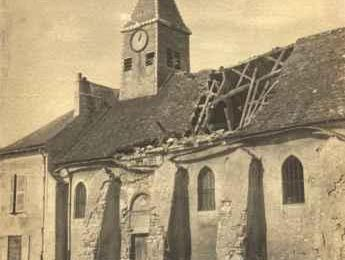 DISPARITION DE L'EGLISE DE SOUILLY