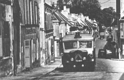 HISTOIRE CLAYE-SOUILLY : LES TRANSPORTS EN 1922