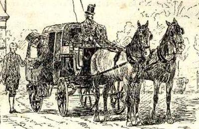 CARROSSE DE MEAUX A PARIS EN 1771
