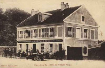 "1874 : VENTE ""AUBERGE DU CHEVAL ROUGE"""