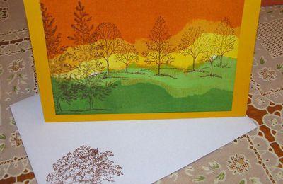 carte d'automne