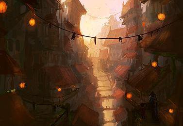 Oriental Abyss par Blinck