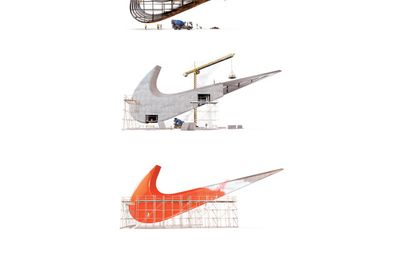 Nike Renovation complet print ad
