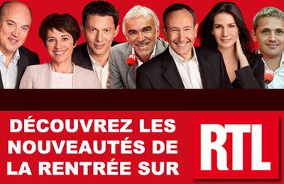 Les nouveaux programmes de la rentrée 2012-2013 sur RTL !